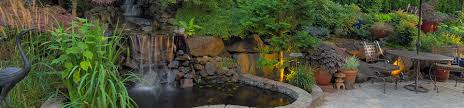 outdoor water features landscape waterfalls u0026 ponds in