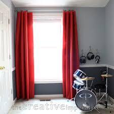 the creative imperative tarps as window treatments