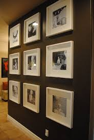 Living Room Photo Wall by Photo Wall Ideas String Stylish Dog Inspired Home Photo Wall