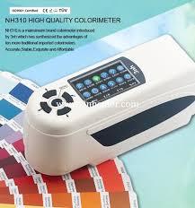 compare colorimeter color measurement instrument cie lab hunter