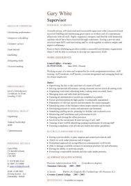 Sample Resume For Customer Service Supervisor by 14 Useful Materials For Customer Service Supervisor Customer