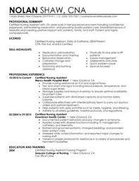 Home Health Aide Job Description Resume by Certified Nursing Assistant Resume Sample No Experience No Job