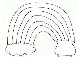 rainbow free printable coloring pages kids coloring