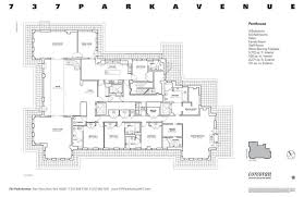 Build A Salon Floor Plan 737 Park U0027s 40m Penthouse Comes With A Giant Roof Terrace Curbed Ny