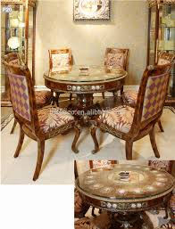 french baroque style mahogany dining table palace solid wood