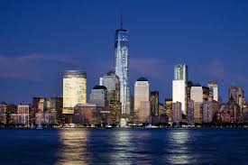 one world trade center new york at night rise