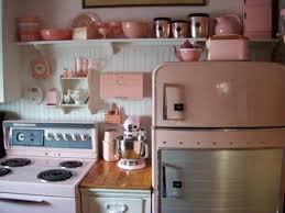 pink retro kitchen collection 140 best retro pink kitchens images on kitchens