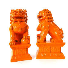 orange foo dogs orange foo dogs foo dogs c foo dog kitchen