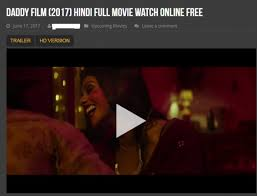 daddy 2017 full hd movie leaked to watch online and free download