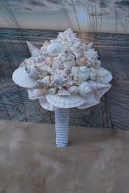 seashell bouquet the blushing bouquet a seashell bouquet bridal bouq