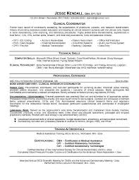 Resume Examples Healthcare by Free Clinical Coordinator Resume Example