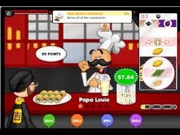 jeux de cuisine de papa louie tous les jeux de papa louis beau papa louie cuisine beautiful papaus