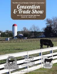 gca convention book 2016 by georgia cattlemen u0027s association issuu