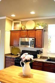 kitchen cabinets storage ideas ideas for top of kitchen cabinets the kitchen cabinet