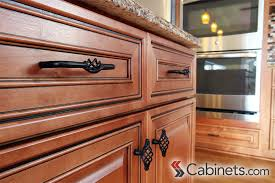 mocha glazed kitchen cabinets american woodmark richmond maple