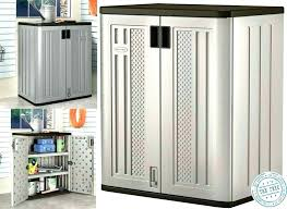 Outdoor Storage Cabinet Waterproof Outdoor Storage Cabinets With Shelves Closet Outdoor Storage
