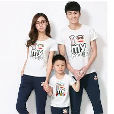 aliexpress buy new summer family clothes leisure printing