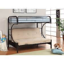 bunk bed with futon bottom bonners furniture