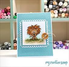 lion copic marker tutorial gerda steiner designs