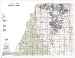 Colorado County Map by Standard Map Products Douglas County Government