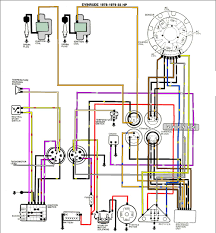 evinrude ignition switch wiring diagram with simple pics 32339