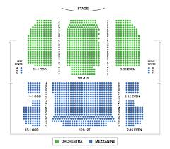 neil simon theatre large broadway seating charts broadwayworld com