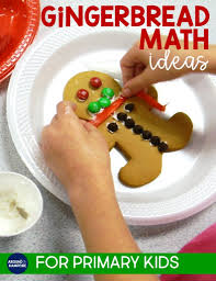 gingerbread math activities around the kampfire