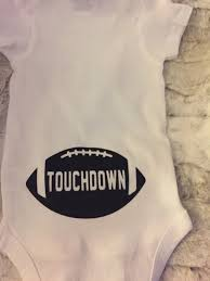 Baby Boy Football Clothes Football Baby Boy Onesie