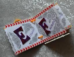 creative design handmade birthday cards by creative khadija doodle