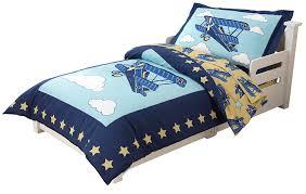 Airplane Toddler Bedding Kidkraft Airplane Toddler Bedding Multi Colour Amazon Co Uk