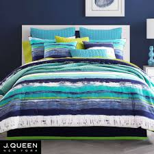 Teal Bed Set Cordoba Teal Comforter Bedding From J By J Queen New York