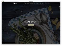 pages menu template 30 best restaurant themes 2017 colorlib