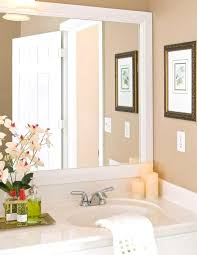 Large Bathroom Mirror Frames Enjoyable Framed Mirrors Bathroom Large Bathroom Mirror Frames Big