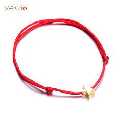 bracelet star images Vekno 2018 lucky golden cross heart star bracelet for women jpg