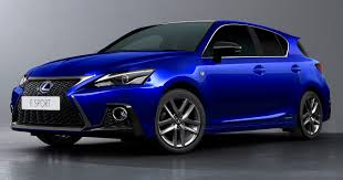 2018 lexus ct 200h revealed with new styling tech