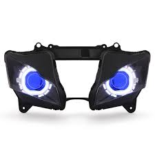 aliexpress com buy kt headlight for kawasaki ninja zx10r zx 10r