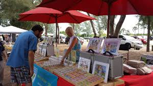 beach market at coquina beach anna maria island florida