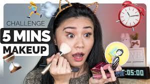 review tutorial makeup sehari hari 5 menit makeup challenge 2017 tutorial makeup sehari hari