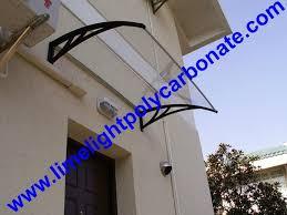 polycarbonate awning door canopy diy awning canopy diy kit awning rain