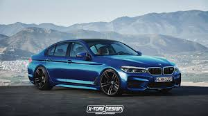 rendered speculation 2018 bmw m5 f90 and 5 series g30 touring