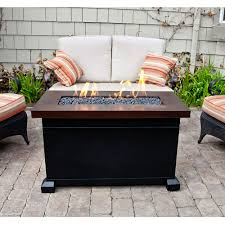 c chef mesa aluminum c table fascinating propane gas fire pit monterey patio table c chef fp40