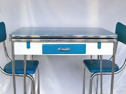 1950s chrome kitchen table and chairs atomic decor vintage chrome kitchen dinette vintage kitchen