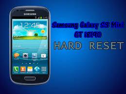 reset factory samsung s3 mini hard reset para samsung galaxy s3 mini gt i8190 tecnificado