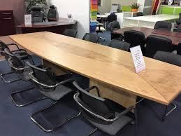 Executive Boardroom Tables Boardroom Tables New U0026 Used Office Furniture Glasgow U0026 Scotland