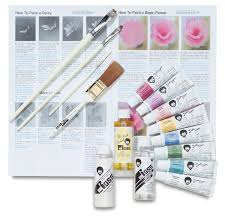 bob ross flower oil painting set blick art materials