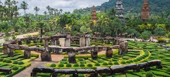 Beautiful Gardens In The World One Of The Most Beautiful Garden In The World Nong Nooch