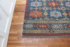 a new kilim rug for the entry thewhitebuffalostylingco com