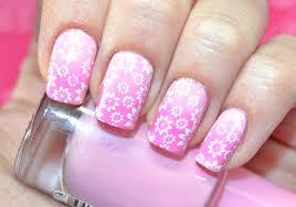 easy floral stamping nail art tutorial дизайн ногтей с цветами