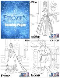 25 frozen coloring sheets ideas frozen