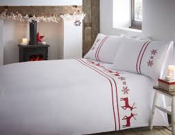 father christmas tree santa duvet quilt cover bedding set ebay